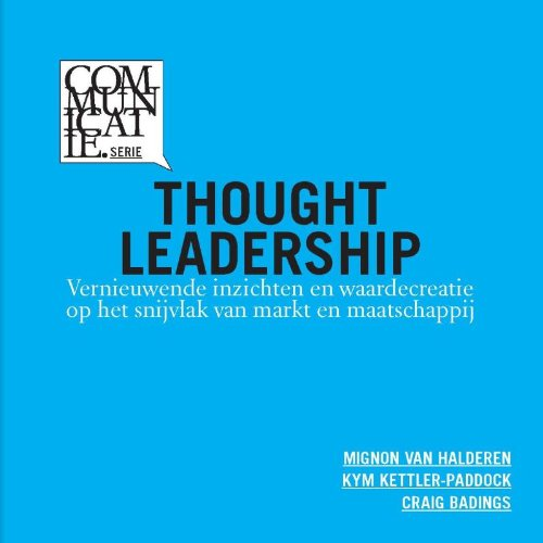 Image of the front cover of the book titled ``Thought Leadership`` by Kym Kettler-Paddock