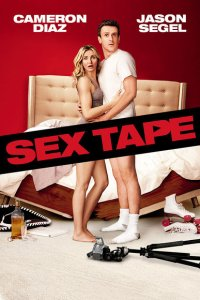 This is an image of the movie poster for 'Sex Tape'.