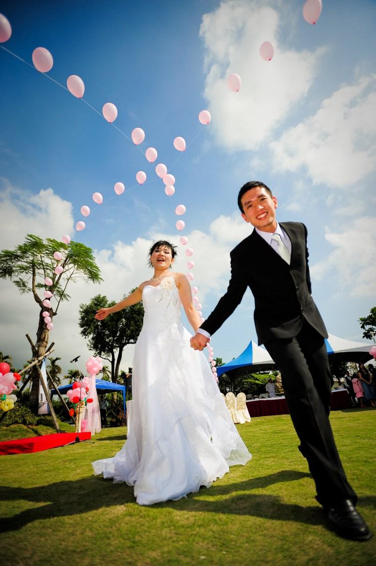 【花蓮婚攝婚禮記錄】《白陽民宿》喬&川–歐風戶外婚禮文訂篇