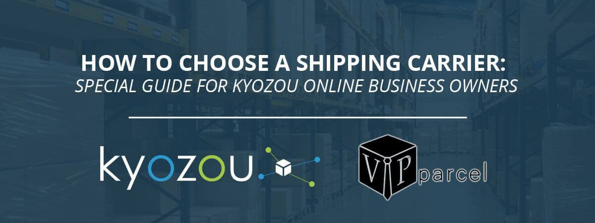 how to choose a shipping provider