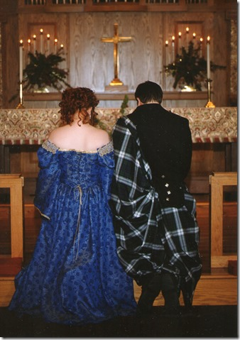Wedding-Kneel