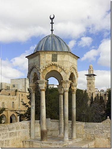 Israel-2013-Jerusalem-Temple_Mount-Dome_of_Al-Khidr_02