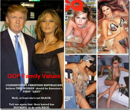 Melania trump slut shaming six