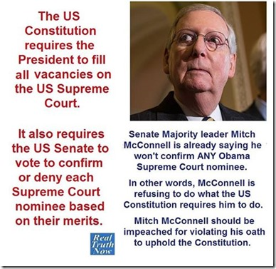 constitutional appointment of SCOTUS