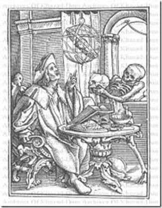 hans holbein danse macabre priest