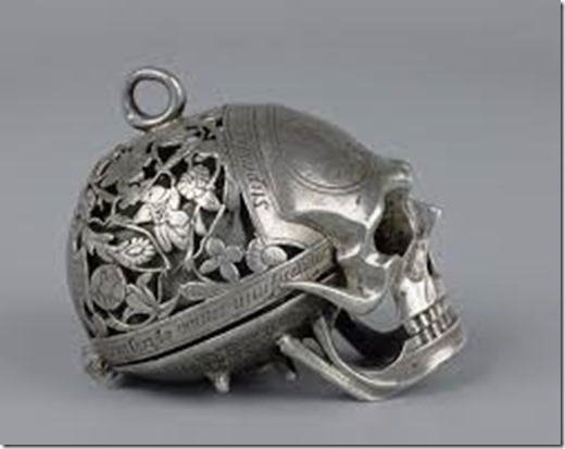 memento mori from Mary Queen of Scots