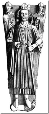 King John tomb effigy