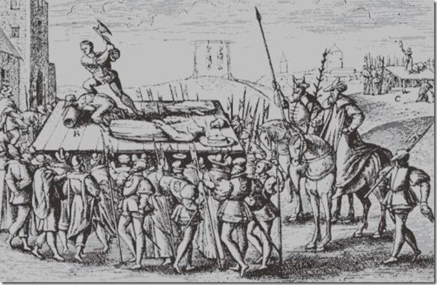 tudor execution