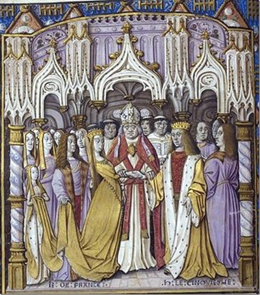 Marriage_of_henry VI and_Catherine of Valois
