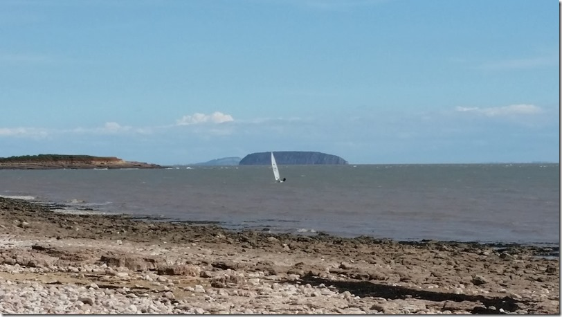 Windsurfur near Sully Island