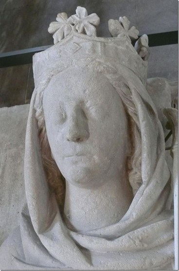 Alys of France effigy