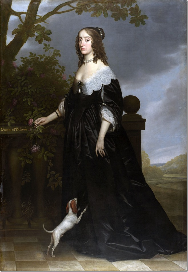 Elizabeth Stuart as a widow