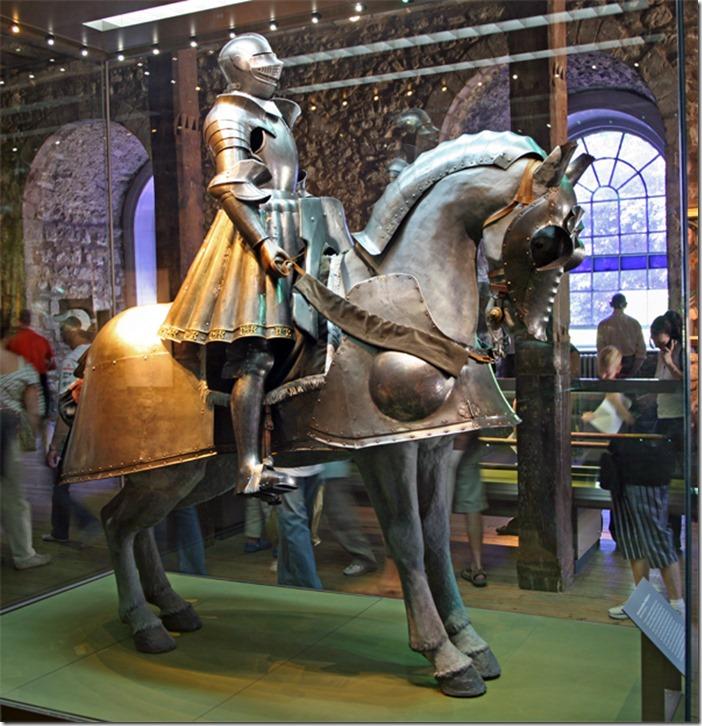 Henry VIII's horse armor