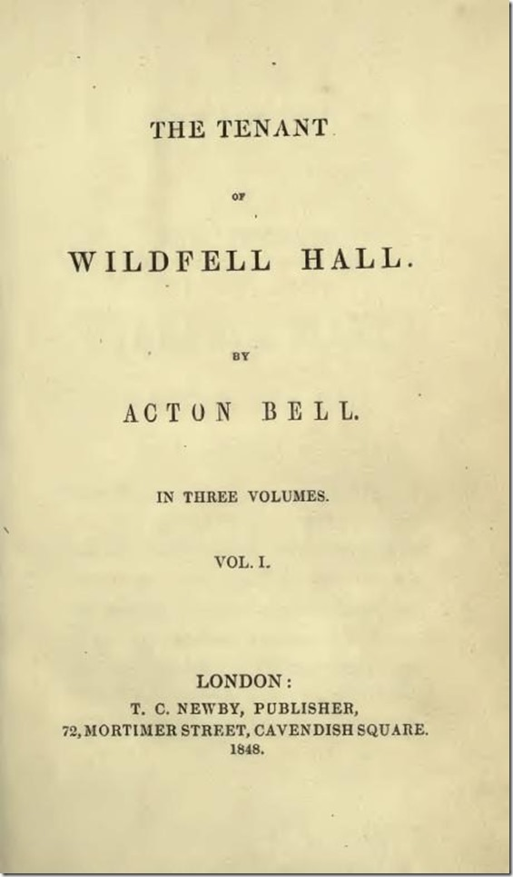 The_Tenant_of_Wildfell_Hall by Anne Bronte