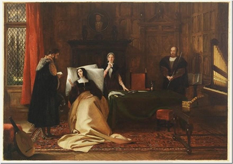 death of Catherine of aragon