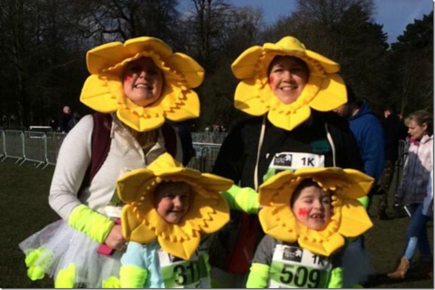 st-davids-day-run daffodils