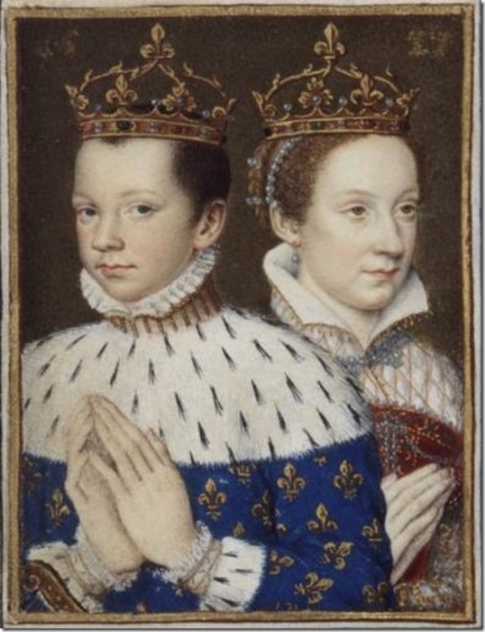 Francois_II and Mary_Stuart wed