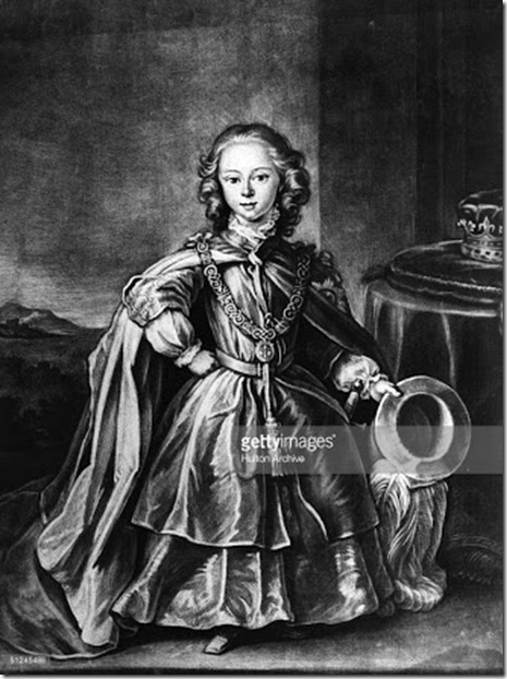 Prince William Billy the Butcher Duke of Cumberland as a child