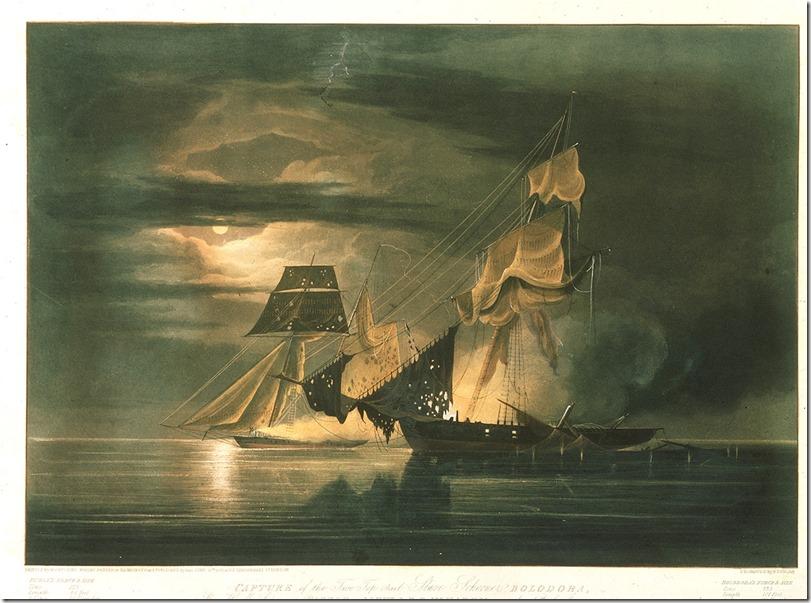 Dunkin slaver versus HMS Pickle