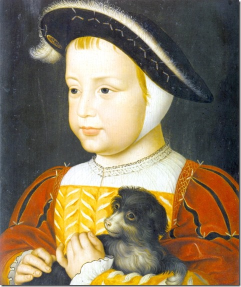 Henri II as a toddler 1519