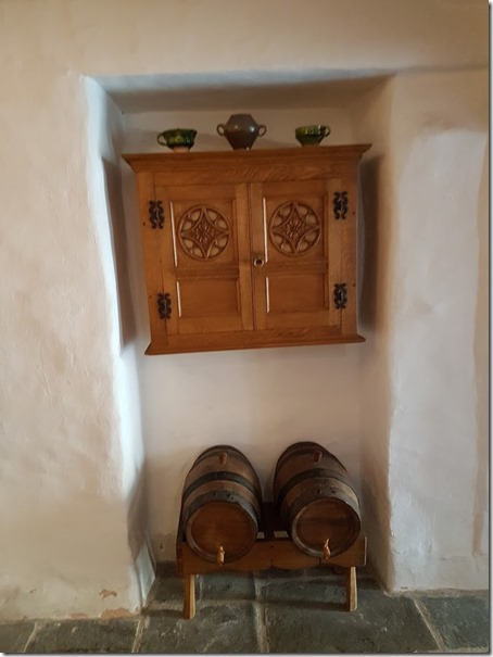 Tenby Tudor Merchant's House kitchen cupboard