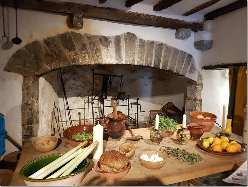 Tenby Tudor Merchant's House kitchen