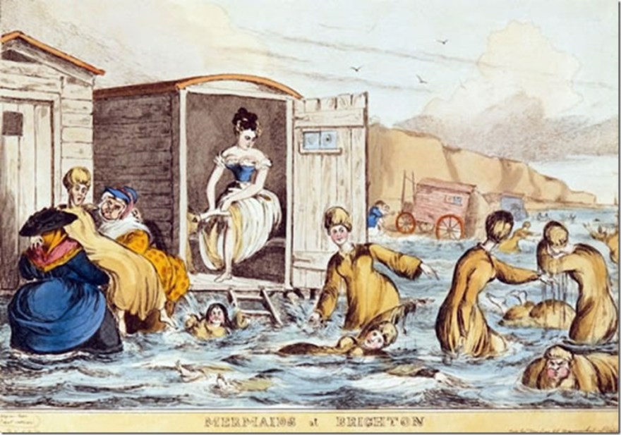 sea-bathing at brighton