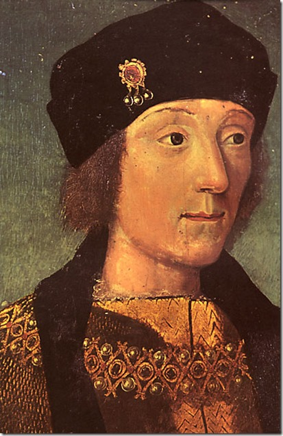 Henry Tudor in France