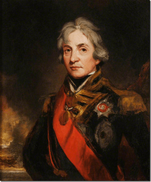 Lord Horatio Nelson By John Hoppner