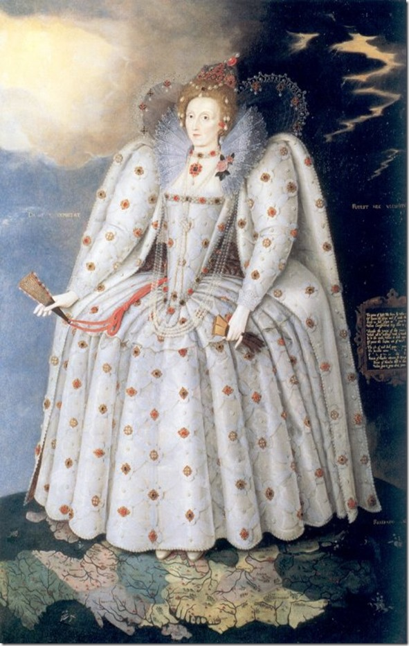 elizabeth I ditchley portrait