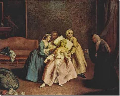 fainting-lady green sickness