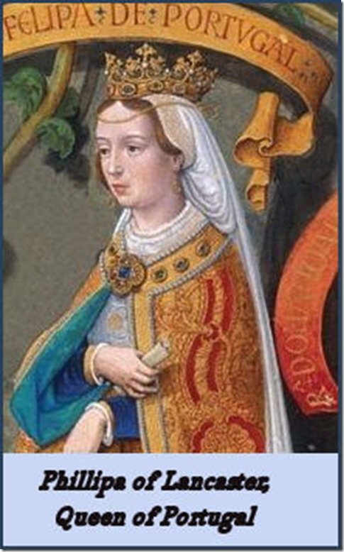 Phillipa of Lancaster, Queen of Portugal