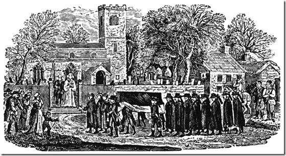 Bewick-funeral 18th century