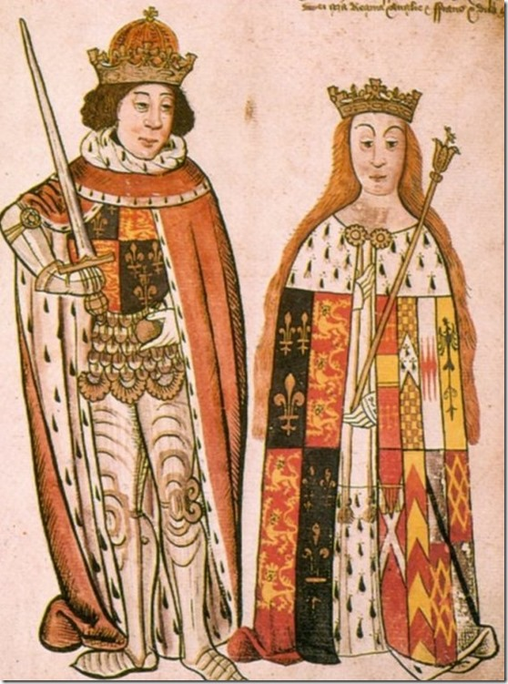 Richard III and Anne Neville