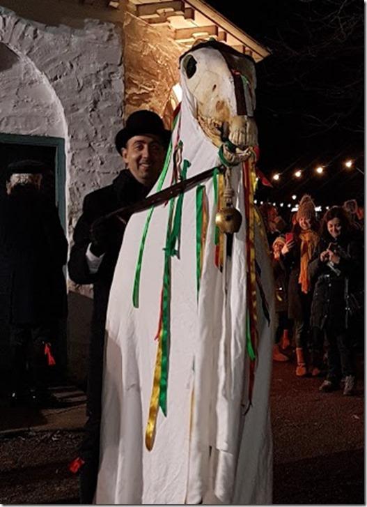 Mari Lwyd at St Fagans 2