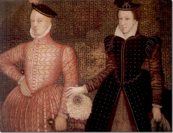 Mary queen of scots with Darnley