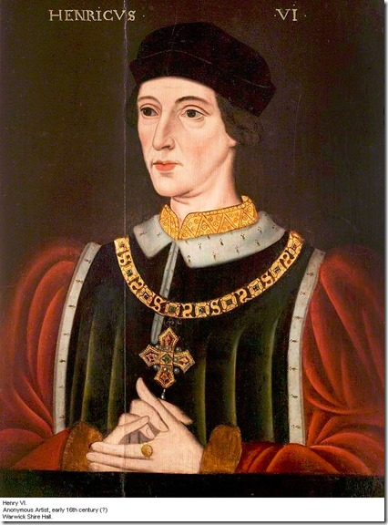 henry VI from warwick shire hall