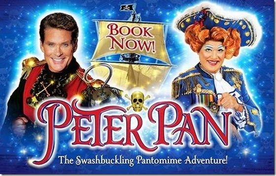 peter pan panto with the hoff