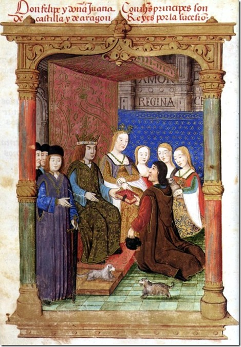 King Philip and Queen Joanna of Castile and Austria