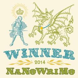 NaNoWriMo 2014 Winner Badge
