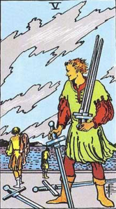 Five of Swords Psychic Prediction