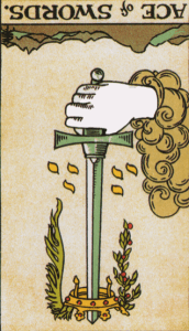 Ace of Swords Reversed Psychic Prediction
