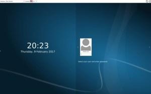 Arch Linux - KDE Plasme 5