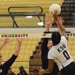Greathouse Smashes 22 Kills as Kentucky State Volleyball Rallies for a 3-2 WIn Over WVSU