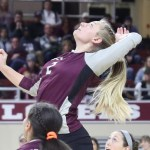 SENIOR CASSIE KNUTSON HAS CAREER NIGHT, BUT EKU FALLS IN FIVE SETS TO TENNESSEE STATE