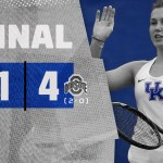 UK WTEN Mikulskyte Tabs Kentucky's Only Singles Win as UK Drops First Dual of the Season
