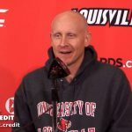 UofL Basketball Coach Chris Mack Preview #17 NC State