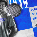 UK MTEN's Ryo Matsumura Dubbed SEC Player of the Week