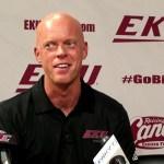 EKU Basketball Coach A.W. Hamilton – Media Day 2019