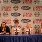 Ryle HS Girls Basketball Sweet 16 2020 Presser vs Letcher County Central